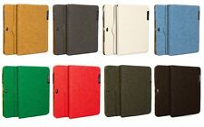 Suede Finish Stand Case Cover Wallet for Samsung Galaxy Note 10.1 N8000 N8010