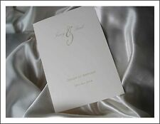PERSONALISED WEDDING ORDER OF SERVICE / MASS BOOKLETS x 50 SIZE A5