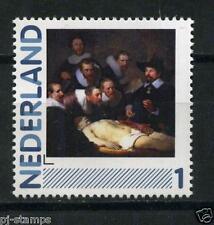 Nederland 2791 2011 persoonlijke zegel blauw kader Rembrandt