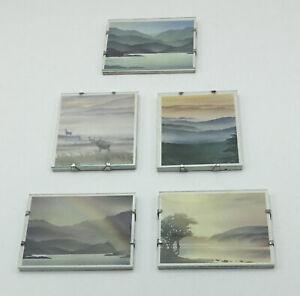 Five Miniature Pictures - 8 cm x 6.5 cm