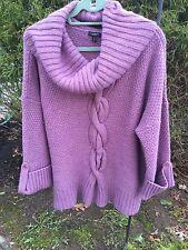 Talbots Purple Sweater Size L New