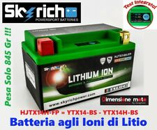 BATTERIA LITIO SKYRICH HJTX14H-FP CCA/240A per KTM RC8 1190 dal 2008 >2011
