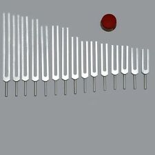 26 Tuning Forks- 7 chakras+11 Planetary+ 8 Harmonics- 3 full sets with activator