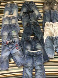 9-12 Months Baby Boy Jeans Trousers Massive Bundle 🐳