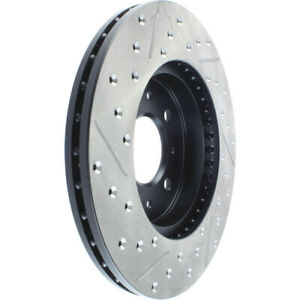 Disc Brake Rotor-High Performance Drilled And Slotted Centric 127.40021L