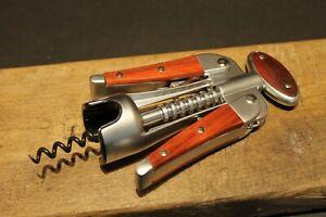 Laguiole Corkscrew with wood Handles Vintage Style
