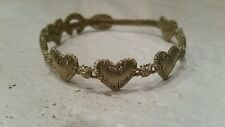 Authentic Cruciani Hearts bracelet - military green