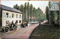 1906 Car/Auto Racing Postcard: French, 'Circuit de la Sarthe' #168