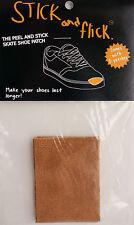 Shoe Goo alternative - Stick & Flick Patches - Brown - Skate shoe repair