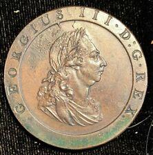 "England 1797 Penny ""cartwheel"" KM 618  George III         (2)"