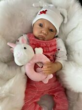 "CHERISH DOLLS NEW REBORN DOLL BABY POPPY FAKE BABIES REALISTIC 22"" NEWBORN GIRL"