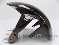 2006-2010 GSXR600 GSXR750 Front Tire Fender Mud Guard Fairing Cowl Carbon Fiber