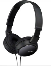 Sony MDR-ZX110 Stereo Monitor Over-Head Headphones Black