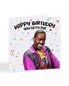 Sex Education Detty Pig Funny Birthday Card, Eric Card, Netflix Card - A7034