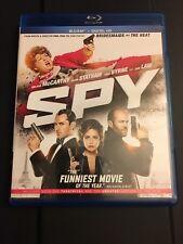 Spy (Blu-ray Disc, 2015, Includes Digital Copy)