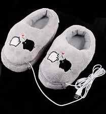 Zapatillas calentadoras por USB.Se calientan al PC o Portátil. USB slippers A616