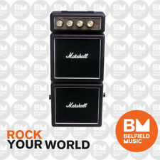 Marshall MS4 Guitar Amp Black Micro Stack Amplifier 1W 2xCabs MS-4 - Belfield