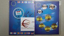 2018 Lussemburgo 8 monete 3,88 EURO luxembourg luxemburg letzebuerg Luxemburgo