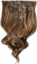 """Foxy Locks Elegant 14"""" Clip In Human Hair Extensions - Sunkissed #8 - 120g"""