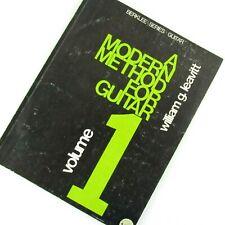 A Modern Method For Guitar Volume 1 Instruction Music Book Berklee Series