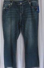 Womens' APT.9 Embellished Bootcut Denim Jeans Size 4 Regular or  22W Short   NWT