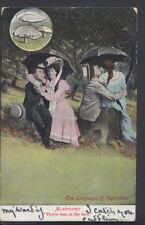 Romance Postcard - Couples - Mushrooms - The Language of Vegetables RS6054
