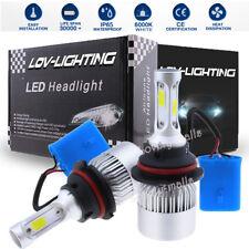 1200W LED Headlight Conversion Kit 9004 HB1 2-Side Hi/Low Beam Bulbs 6000K White