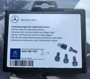 MERCEDES BENZ MB OEM A 0019901707 Wheel lug bolt Locks LONG NEW DEALER TAKE-OFF