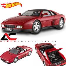 HOTWHEEL X5480 1:18 FERRARI 348 TS ELITE EDITION RED SUPERCAR DIECAST