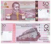 Haiti 50 Gourdes 2014 P-274e Banknotes UNC