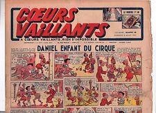 COEURS VAILLANTS 1942 n°28. Hergé. Tintin Le crabe aux Pinces d'Or.