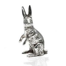 Miniatuur zilveren haas