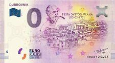 0 Euro Souvenir Croatia - Dubrovnik - HRAA - 0 euro - SPECIAL EDITION - First