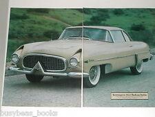 1986 article, 1954 Hudson Italia, history, photos specs