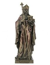 "10.75"" King Solomon With Model Of First Temple Statue Figurine Figure"