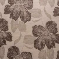 Chari Large Floral Chenille Velvet Furnishing Upholstery Fabric