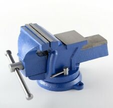"6"" Bench Vise Heavy Duty Tabletop Countertop Swivel Locking Base Free Shipping"
