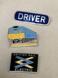 British Rail Electric Pin Badge
