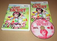 Candace Kane's Candy Factory for Nintendo Wii Complete Fast Shipping!
