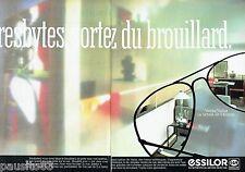 PUBLICITE ADVERTISING 106  1983  les verres lunettes (2p) Essilor varilux