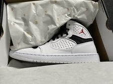 Nike Jordan acceso Talla 7 Reino Unido Blanco Negro Botas