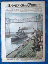 La Domenica del Corriere 9 febbraio 1919 Hercules - Roma - Consegna bandiera