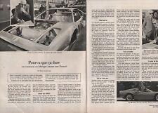 Coupure de presse Clipping 1979 Comment on fabrique une Ferrari  (2 pages)