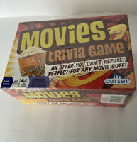 BRAND NEW Movies Trivia Game Outset 2018 SEALED