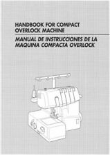 Brother 1634D Overlock Serger Owners Instruction Manual Reprint