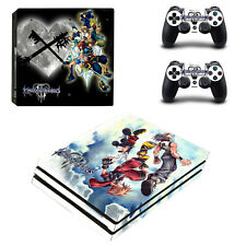 PS4 Pro Skin Sticker Decal Cover 2 Controllers KINGDOM HEARTS FINAL FANTASY 02