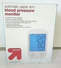 Automatic Upper Arm Blood Pressure Monitor Up & Up #48-554 Open Box