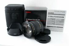Sigma 17-50mm F2.8 EX DC OS HSM for Pentax from Japan [Mint]