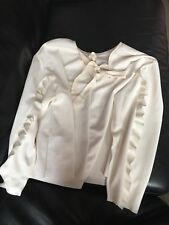 Zara Cream Top 14 Large