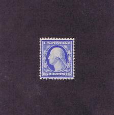 Sc# 382 Unused Og H 15 Cent Washington, 1911, 2017 Psag Cert, Graded Vf 80.
